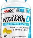 Amix Vitamin D - 4000 I.U., 90 kapslí