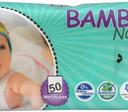 BAMBO Nature dětské vlhčené ubrousky 50 kusů