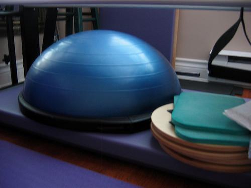 Zpevněte své tělo a vyzkoušejte cvičení na Bosu