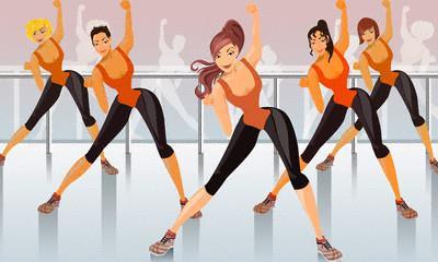 Jak určujeme intenzitu při cvičení aerobiku?