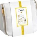 Dove Coconut Deluxe dárková kosmetická taška 4ks