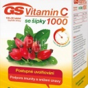 GS Vitamin C1000 + šípky 100+20 tablet