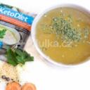 KetoDiet Proteinová polévka hovězí s nudlemi 7porcí