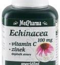 MedPharma Echinacea 100mg+vitamín C+zinek 107 tablet