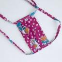 Meera Design Dětská ochranná rouška ze 100% bavlny - růžovka (1 ks)