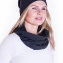 Meera Design Šmrncovní čepice Lilith - černá
