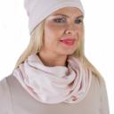 Meera Design Šmrncovní čepice Lilith - světle růžová