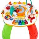 Mluvící a hrající interaktivní stoleček New Baby s jezdícím vláčkem CZ/SK