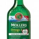 Möller's Omega 3 rybí olej Jablko 250ml