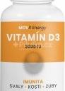 MOVit Vitamin D3 2000 I.U. 50 ucg 90 kapslí