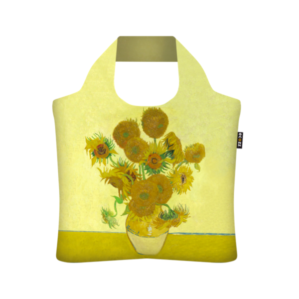 Ecozz EcoShopper Gold Collection - Sunflowers (Vincent van Gogh)