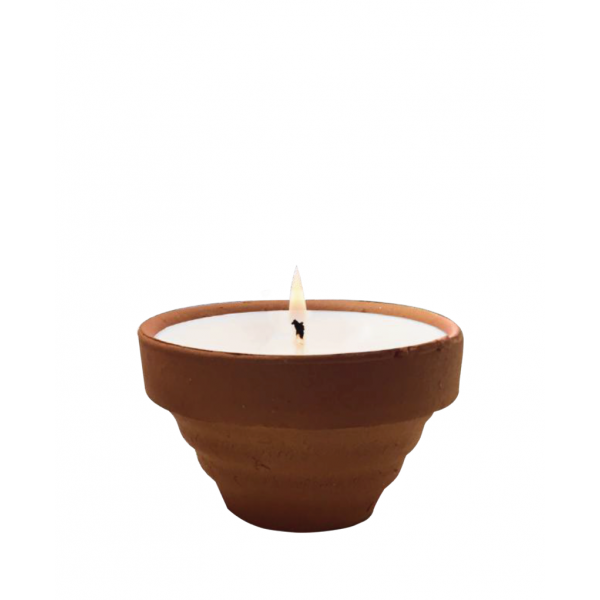 The Greatest Candle Vonná svíčka Terracotta (75 g)  - citronela