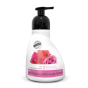 Sprchová pěna - růže s arganovým olejem